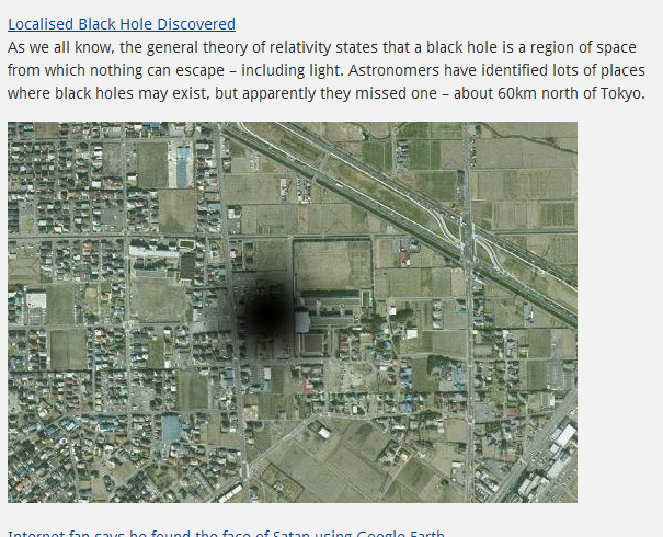 Black Hole on Earth Water - Pics about space